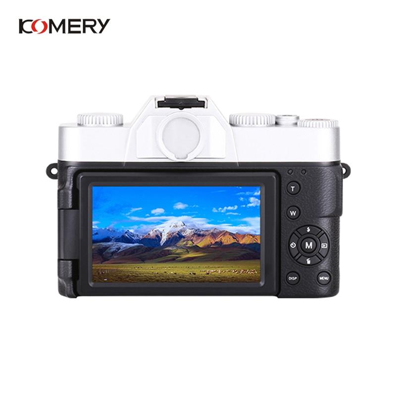 KOMERY Professionelle Digitale Kamera 3,0 Inch LCD Flip Screen 4K Video Kamera 16X Digital Zoom HD Ausgang Unterstützung WiFi selfie Cam - 3