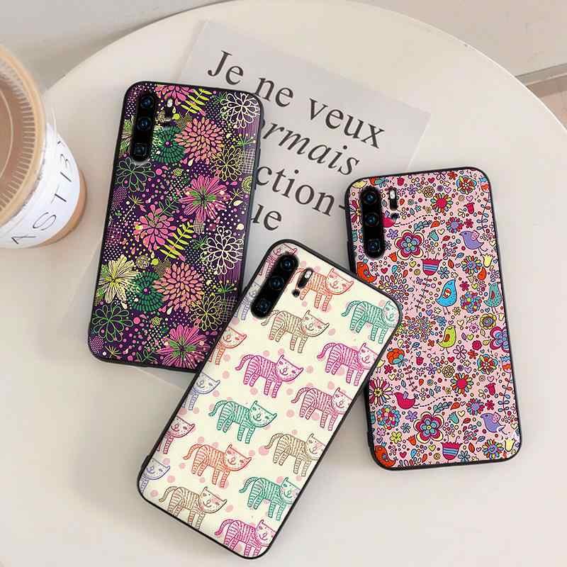 Coque de téléphone pour Huawei P10 P20 2019 P8 P9 Mini P30 LITE pour Huawei P Smart Z 2018 P20 Pro housse sacs peinture étui de protection