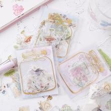 Mohamm Красивая серия Kawaii клевый стикер пользовательские наклейки для дневника канцелярские хлопья скрапбукинга DIY декоративные наклейки s