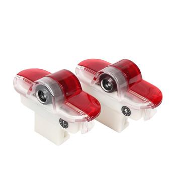 2 sztuk LED drzwi samochodu dzięki uprzejmości laserowe dekoracje Logo projektor duch cień światła akcesoria dla SEAT Alhambra Leon MK1 2005 2006 tanie i dobre opinie GBCCNM CN (pochodzenie) Witamy Światło