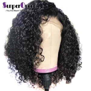 Image 3 - Curly Bob Wig Lace Front Human Hair Wigs M With Baby Hair Brazilian Remy Hair Short Curly Bob Wigs For Women Pre Plucked Wig