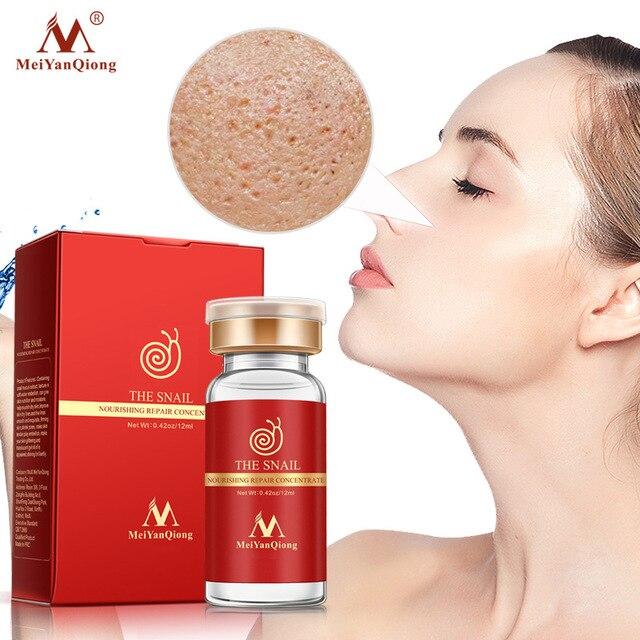 Snail Extract Serum Essence Hyaluronic Acid Liquid Whitening Spot Essence Shrink Pores Ampoule Anti-acne Regenerative Essence