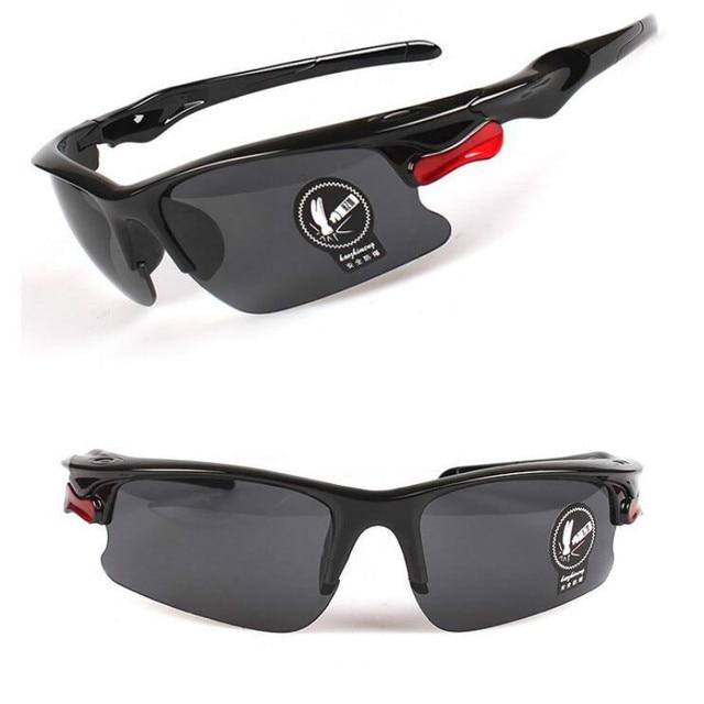 Lunettes de Vision nocturne de voiture lunettes de conduite Anti-éblouissement lunettes de conduite engrenages de Protection lunettes de Protection UV lunettes de soleil 3
