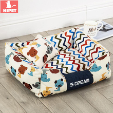HIPET Cat Dog Sleeping Bed Pad Waterproof Oxford Detachable Washable Golden Retriever Small Large Pet Sofa Cushion