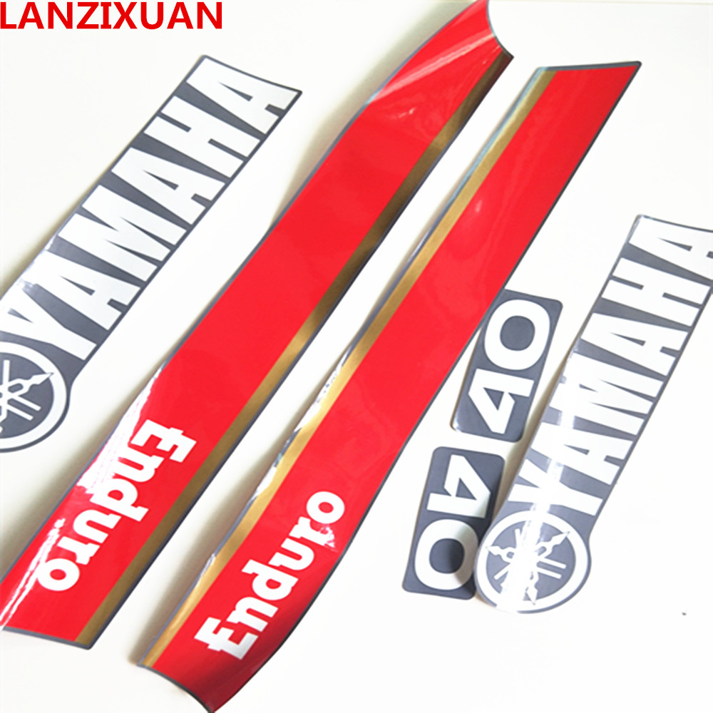 Yamaha 2hp 2 stroke outboard engine decals//sticker kit
