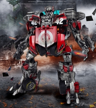 Transformation TF Dream GOD Movie 3 Thunder Rescue Team D-Class Lead Painted Edition Action Figure Toy