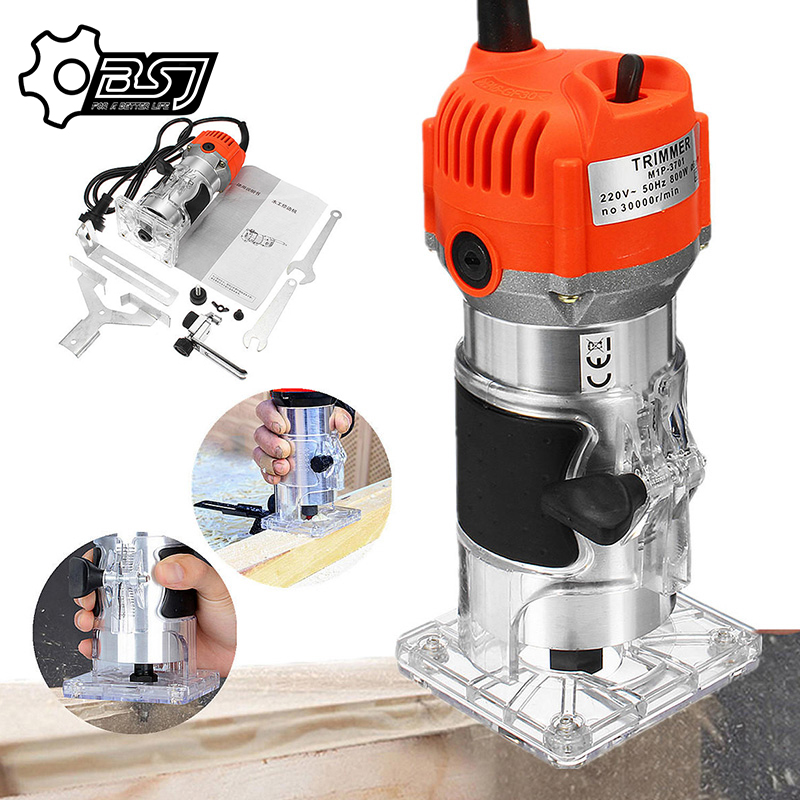 Wood Trimmer Electric Trimmer Woodworking Electric Hand Trimmer Wood Laminator Edge Trimmer Wood r Wood Milling Slotting Machine