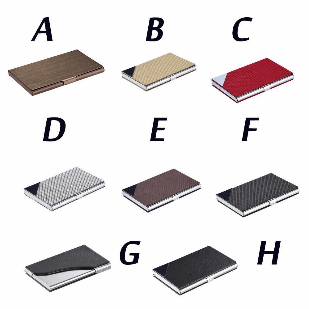 カードホルダープロテクター財布オリジナリティステンレス鋼カードホルダー金属カバークレジットカードビジネス旅行カード rfid 財布 # R25
