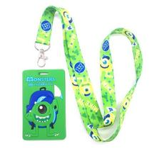 새로운 10 pcs 녹색 눈 카드 매는 밧줄 열쇠 고리 카드 소지자 은행 카드 목 스트랩 카드 버스 ID 홀더 M105