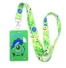 Neue 10 stücke grün auge karte Lanyard Schlüssel Ketten Karte Inhaber Bank Card Neck Strap Karte Bus ID Halter M105
