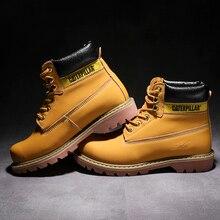2019 Autumn NEW Men Boots Big Size 38-46 Vintage Brogue College Style Men Shoes