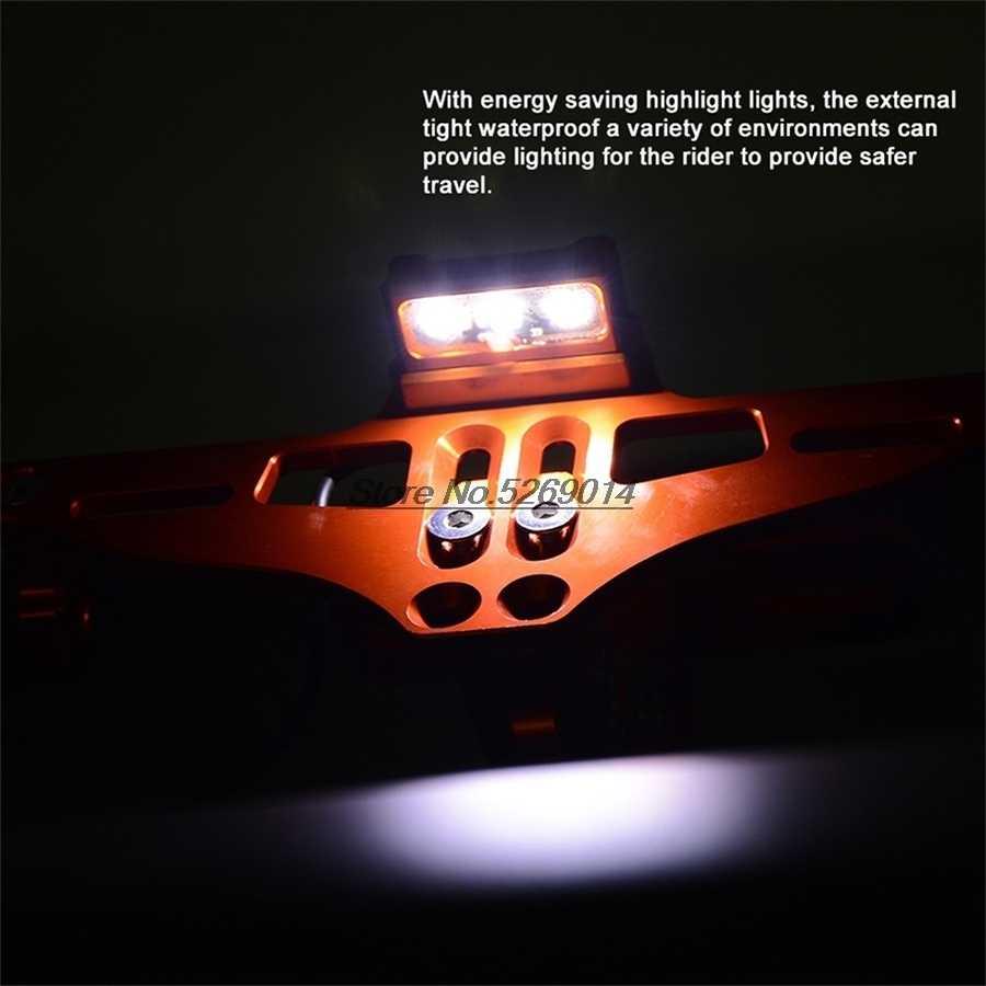 LED avec 100% décodeurs CNC en aluminium moto plaque d'immatriculation couverture pour Cfmoto 400Nk Kawasaki Kx250F Nmax 155 Cb 190R Honda