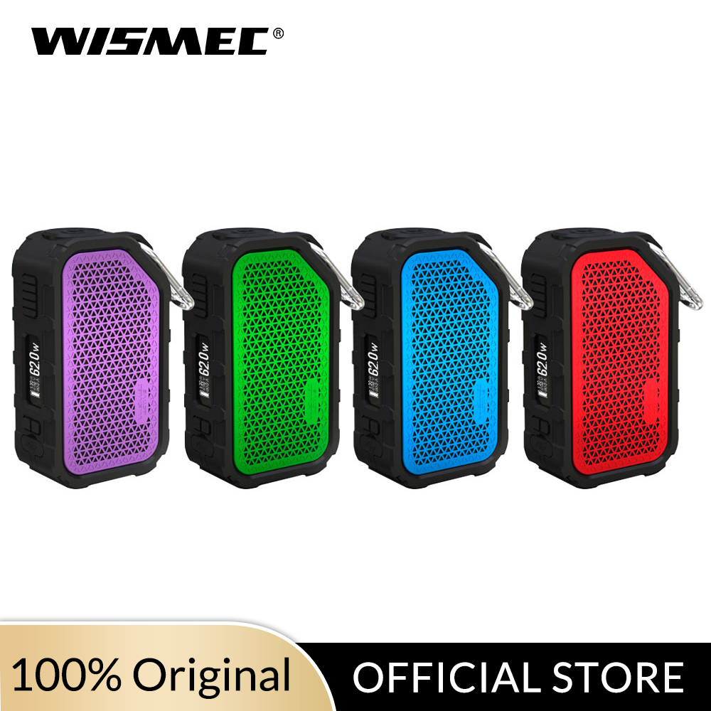 [Official Store] Original 80W Wismec Mod Active BOX MOD With 2100mAh Battery  Bluetooth Speaker Waterproof E Cigarette Mod