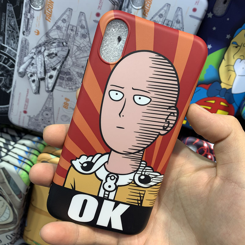 ONE PUNCH MAN Case for iphone 6 6s 7 8 plus X XR XS Max funda