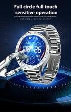 חכם שעון גברים מלא מגע 1.3 אינץ גשש כושר קצב לב לחץ דם נשים Smartwatch חכם שעון עבור ספורט IOS אנדרואיד