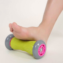 3D Foot Roller Massager Arm Muscle Stress Device Spiky Point Shiatsu Rotate Relax Relief Fatigue Acupuncture Blood Circulation