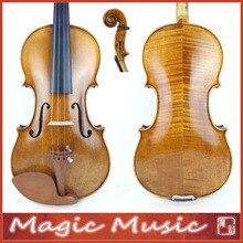 50 лет ели! Копия итальянской скрипки 19 в. Размер 4/4, итальянский лак ручной работы под старину
