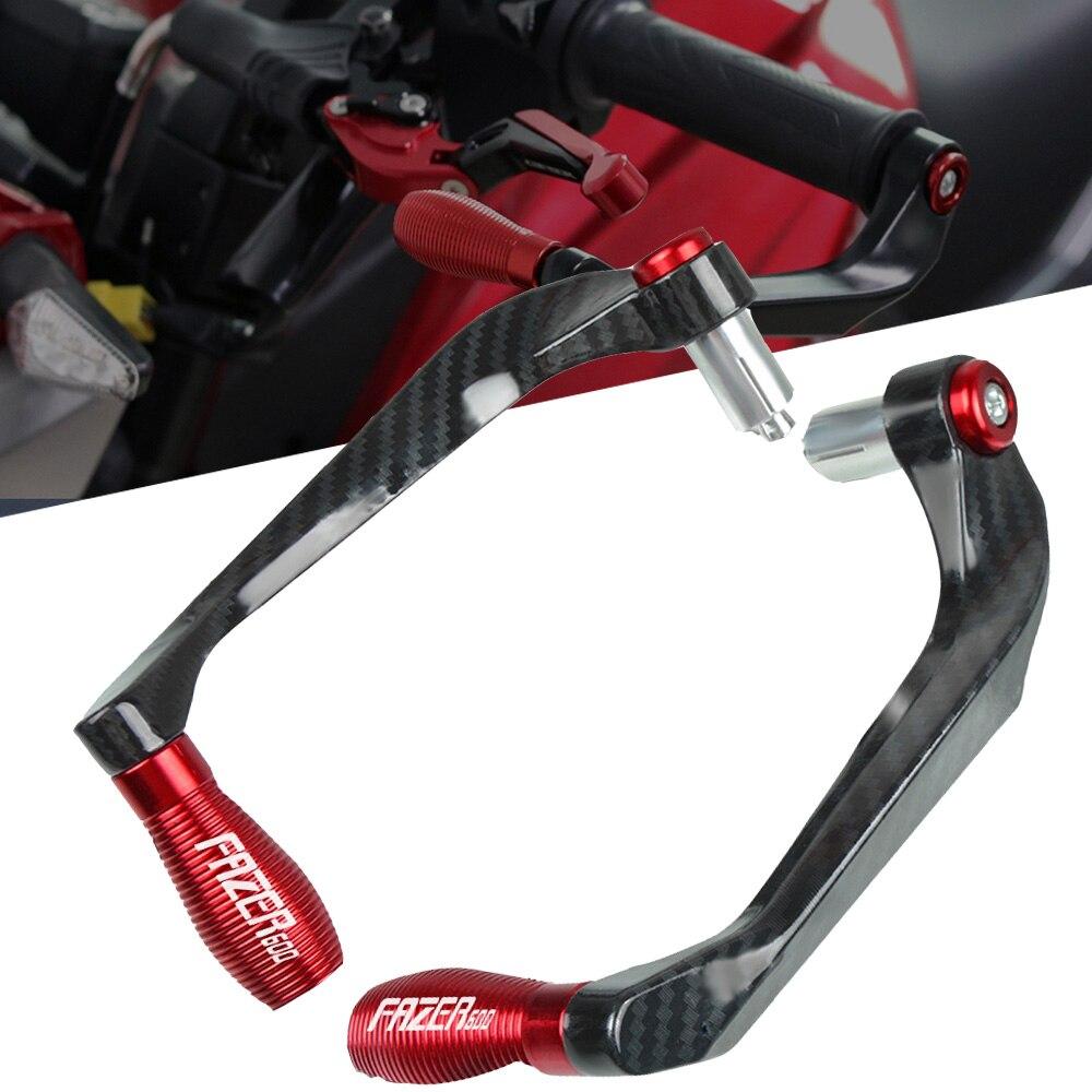 Empuñaduras del manillar de la motocicleta Protector de las palancas del embrague para YAMAHA FAZER600 FZ6R/FZ6 FAZER accesorios de la motocicleta