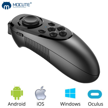 MOCUTE 052 Wireless Bluetooth VR Joystick Gamepad Remote Controller For Android iOS Phone PC TV Box 3D Virtual Reality Glasses new upgrade wireless gamepad bluetooth game controller gaming joystick for android ios smart phone remote controller for vr