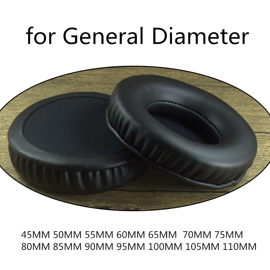Replacement Soft Memory Foam Ear Pads 45MM 100mm 60mm 80MM 110mm  For Sennheiser For Sony For AKG For ATH For Philips Headphones