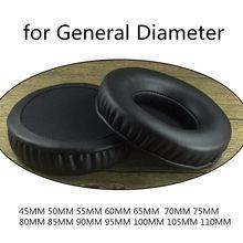 Coussinets d'oreille en mousse à mémoire souple de remplacement 45MM 100mm 60mm 80MM 110mm pour Sennheiser pour Sony pour AKG pour ATH pour casque Philips