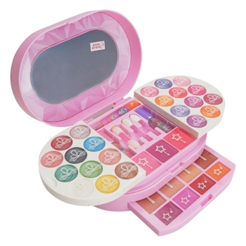 Children Kids Makeup Set Pretend Play Eco-friendly Cosmetic Make up Safety Gifts Kit Beauty Cartoon kids Pretend Dressing table bellylady kids girl makeup set eco friendly cosmetic pretend play kit princess toy gift