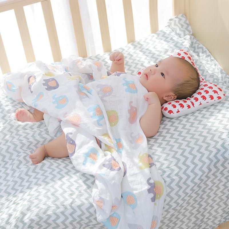[simfamily]Baby Nursing Pillow Infant Newborn Sleep Support Concave Cartoon Pillow Printed Shaping Cushion Prevent Flat Head 4