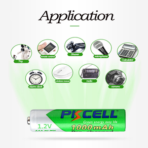 Image 5 - 8PCS PKCELL AAA batterien NI MH aaa Akkus Geringe Selbstentladung AAA vorladung 1,2 v nimh 1000mah batterie