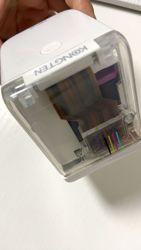 Cubo de impresora de Gadget más Popular 2020 (cepillo)-El móvil más pequeño del mundo impresora de bolsillo con Logo