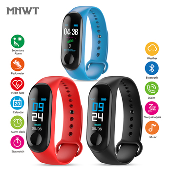 MNWT Watches Men Women Smart Digital Watch Fitness Sport Bracelet Wristband Heart Rate Monitor SMS Reminder For IOS Android heart rate monitor smart wrist for men women anti lost reminder smart watch for ios android shake photograph smart bracelet