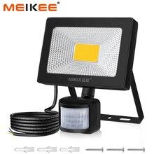20W LED Motion Sensor Flutlicht 2000lm IP66 Wasserdichte LED Flutlicht Outdoor Scheinwerfer für Garten Terrasse