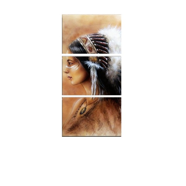 Indian Feather Poster Mawgie
