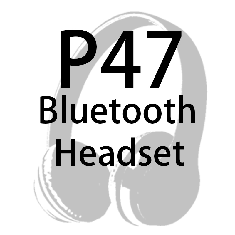Dropshipping para o Cliente Fones de Ouvido sem Fio Fone de Ouvido Bluetooth Vip P47