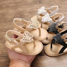 2021 Focusnorm 0-18M Infant Baby Girls Boys Sandals Bling Bling Butterfly Sandals Shoes 3 Colors Fashion Summer Shoes