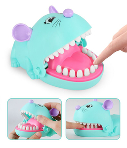 Mouse Cartoon Biting Finger Parent-Child Interaction Tooth Extraction Toy Table Game Party Game Fun Gift Boy Girl Strategy Games