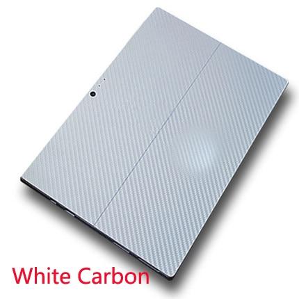 White Carbon fiber Black 1PCS Carbon fiber Laptop Sticker Decal Skin Cover Protector for Apple iPad Pro 12 9 A2229