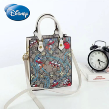 Disney Mickey cartoon woman shoulder messenger bag high quality handbag shopping bag large capacity tote bag luxury female bag