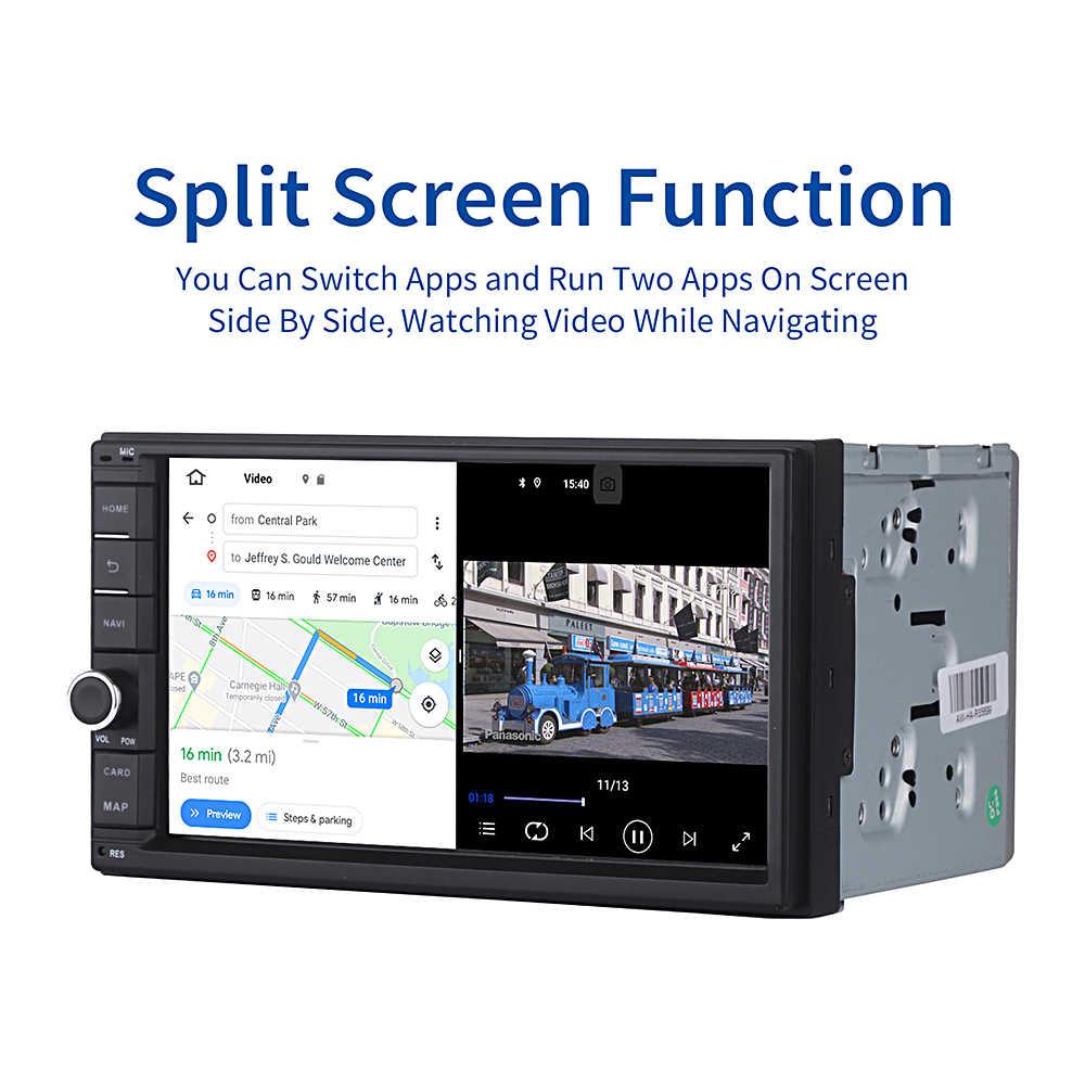 """Android Universal Car 2 Din Radio 7 """"IPS Dello Schermo di Android 10 Stereo Multimedia Bluetooth MP3 di Navigazione per Nissan Costruito-in DSP"""