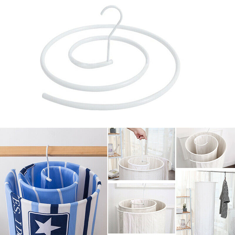 Round Shape Pegs Laundry Stainless Steel Spiral Drying Hanging Rack Drier Clothes Stainless Steel Sock Quilt Blanket Hanger