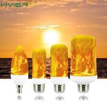 Flame Full Model 3W 5W 7W 9W E27 E14 Bulb 85-265V LED Flame