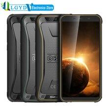 """Blackview BV5500 artı IP68 su geçirmez 4G cep telefonu 3GB + 32GB 5.5 """"ekran 4000mAh Android 10.0 çift SIM güçlendirilmiş akıllı telefon NFC"""