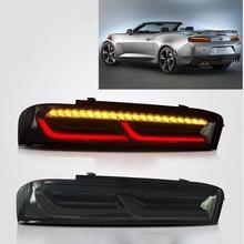 Voll FÜHRTE Dynamische Schwanz Lichter Montage Für Chevrolet Camaro 2016 2018 Rücklicht Schwanz Lampe Mit Sequential Blinker Lichter LED