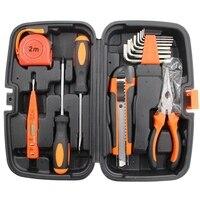 15Pc Manuellen Werkzeug Set Wartung Maschinen Werkzeug Kit Hause Garage Schlüssel Toolbox-in Handwerkzeug-Sets aus Werkzeug bei
