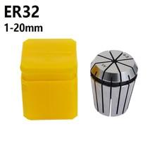 ER32 Chuck  Accuracy 0.015 mm  Range 3-20mm  Milling chuck for ER tool holder of NC machine tool 3 3.175 4 5 6  8  10 12 14 16mm цена