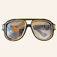 Vintage Oversized Sunglasses Men Luxury Brand Designer Outdoor Pilot Sun Glasses UV400