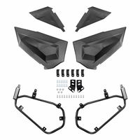 Lower Half Door Inserts Panels with OEM Style Frame Works for 2015 2019 Polaris RZR XP 1000 / Turbo/S
