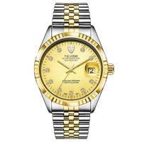TEVISE Uhr Wasserdicht Geschäfts Kalender Uhr Männer Uhr Spirale Krone Automatische Mechanische Uhr|Mechanische Uhren|   -