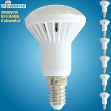 R50 lâmpadas led e14 base smd5730 lampada led bombillas ac 110 220v 240v branco quente branco frio lâmpada led para casa