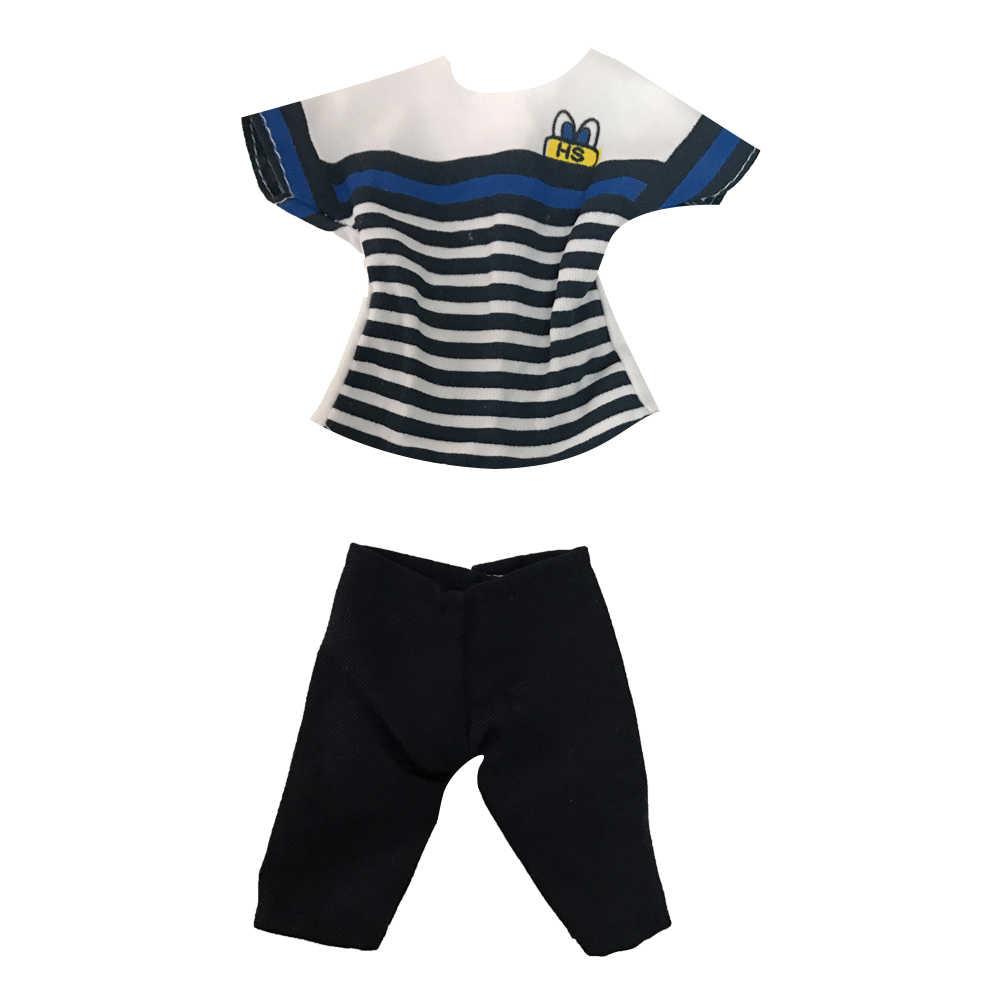 NK ใหม่ล่าสุด Prince Ken ตุ๊กตาเสื้อผ้าแฟชั่น Cool ชุดสำหรับตุ๊กตาบาร์บี้ Boy KEN ตุ๊กตาเด็กของขวัญวันเกิดของขวัญ 025D 9X