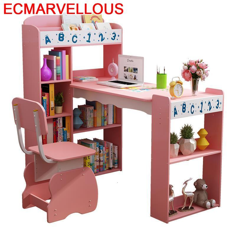 For Escritorio Mesinha Children Pour Child De Estudo Chair And Adjustable Bureau Mesa Infantil Enfant Kids Study Table
